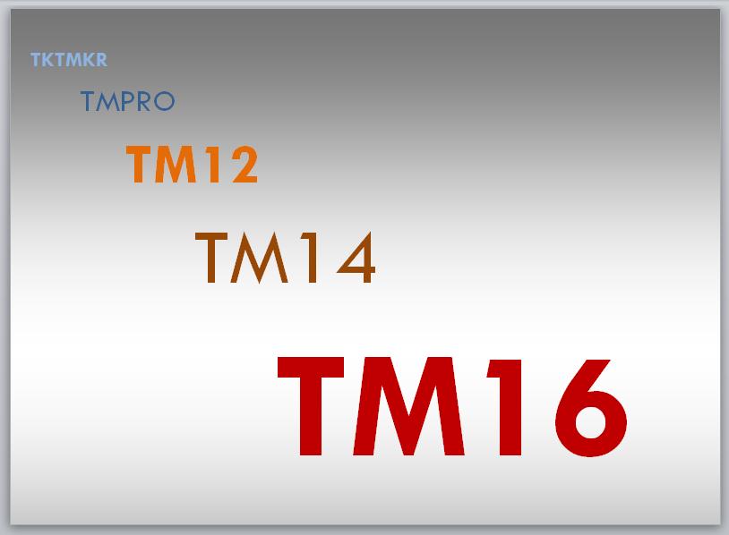 TKTMKR to TM16